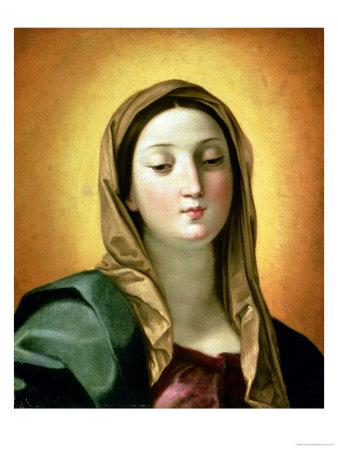 Madonna Premium Giclee Print by Guido Reni