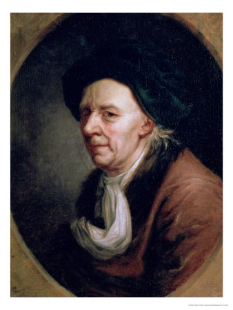 Portrait of the Mathematician Leonard Euler (1707-83) Premium Giclee Print by Joseph Friedrich August Darbes