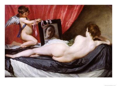 The Rokeby Venus, circa 1648-51 Premium Giclee Print by Diego Velázquez