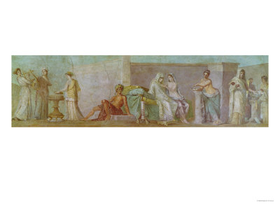 The Aldobrandini Wedding, 27 BC-14 AD Giclee Print