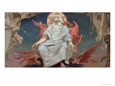 Savaoph, God the Father, 1885-96 Giclee Print by Victor Mikhailovich Vasnetsov
