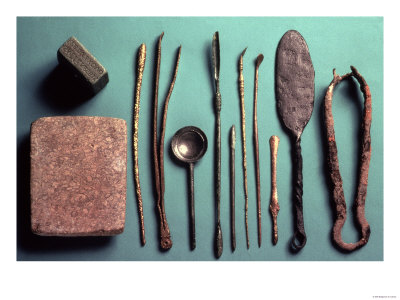 Surgical Instruments, Various Dates Within Roman Period Premium Giclee Print