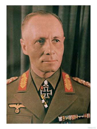 """Marshal Erwin Rommel (1894-1944) from """"Signal"""" Magazine, No. 17, First Edition of September 1942 Premium Giclee Print"""