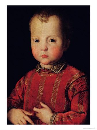 Portrait of Don Garcia Giclee Print by Agnolo Bronzino