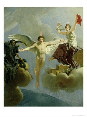 Freedom or Death, 1794-95 Premium Giclee Print by Jean-Baptiste Regnault