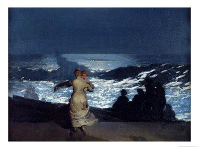 Summer Night, 1890 Premium Giclee Print by Winslow Homer