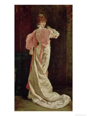 Sarah Bernhardt (1844-1923) in the Role of the Queen in