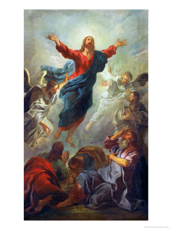 The Ascension, 1721 Premium Giclee Print by Jean Francois de Troy