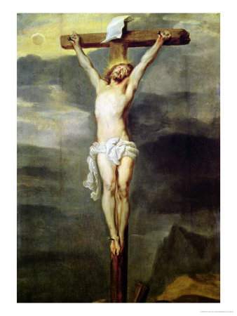 Christ on the Cross, 1627 Lámina giclée