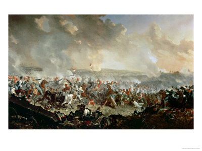 La batalla de Waterloo Dighton-denis-the-battle-of-waterloo-18th-june-1815