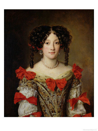 Portrait of a Woman Giclée-Druck von Jacob Ferdinand Voet