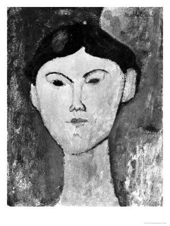 Beatrice Hastings (1879-1943) circa 1914-15 Stampa giclée di Amedeo Modigliani