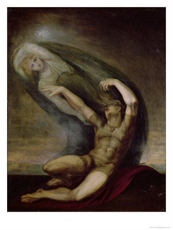Achilles Searching for the Shade of Patrocles, 1803 Premium Giclee Print by Henry Fuseli