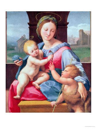 The Aldobrandini Madonna or the Garvagh Madonna, circa 1509-10 Premium Giclee Print by  Raphael