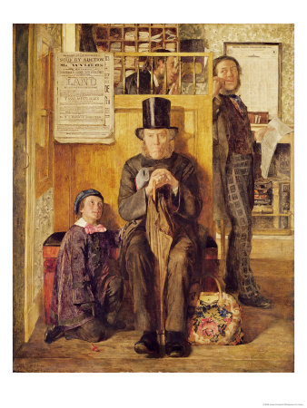 The Solicitor's Office, 1857 Premium Giclee Print by James Campbell II