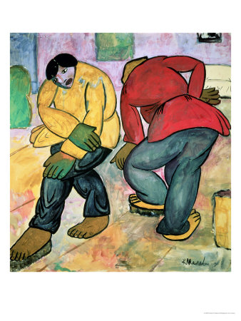 The Floor Polishers, 1911 Gicleetryck