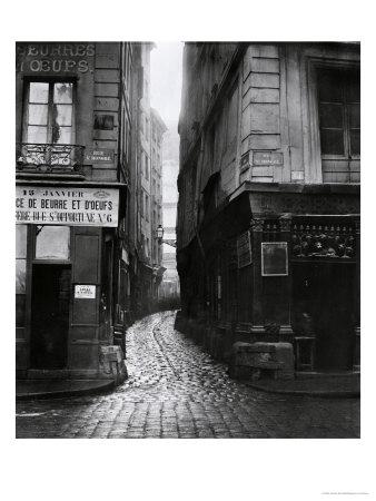 Rue Tirechape, from Rue St. Honore, Paris, 1858-78 Giclée-Premiumdruck von Charles Marville