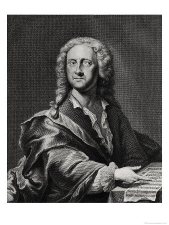 Portrait of Georg Philipp Telemann (1681-1757) Giclee Print by Georg Lichtensteger