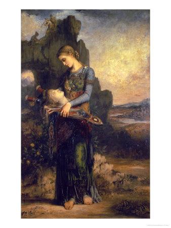 Orpheus, 1865 Premium Giclee Print by Gustave Moreau