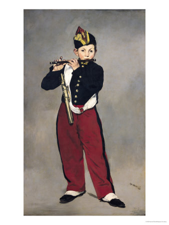 The Fifer, 1866 Premium Giclee Print by Édouard Manet