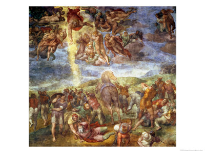 Conversion of St. Paul Premium Giclee Print by  Michelangelo Buonarroti