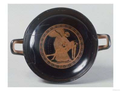 The Douris Cup, an Attic Red-Figure Cup of Eos Carrying the Body of Her Son Memnon Giclee Print