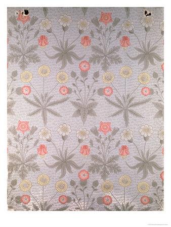 wallpaper designers. quot;Daisyquot; Wallpaper Design, 1864