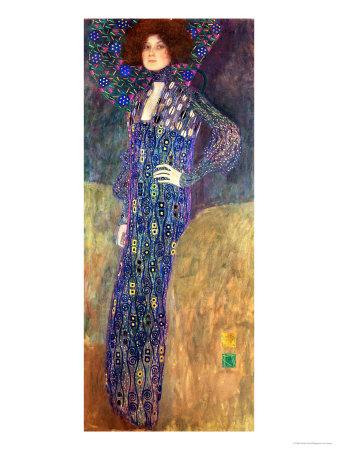 Emilie Floege Giclee Print by Gustav Klimt