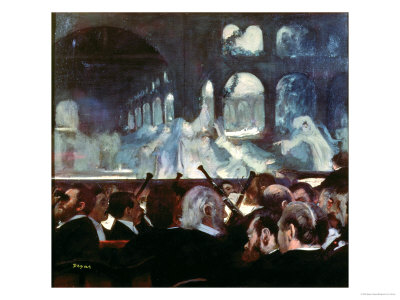 "The Ballet Scene from Meyerbeer's Opera ""Robert Le Diable,"" 1876 Premium Giclee Print by Edgar Degas"