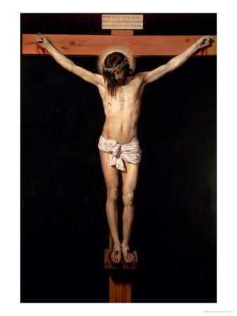 Christ on the Cross, circa 1630 Giclée-tryk af Diego Velázquez