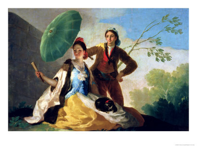 The Parasol, 1777 Giclee Print