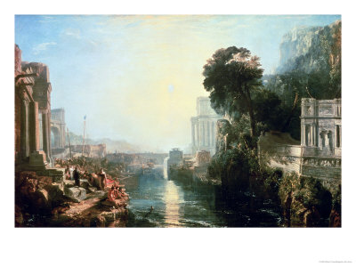 Dido Building Carthage, or the Rise of the Carthaginian Empire, 1815 Premium Giclee Print by J. M. W. Turner