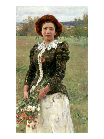 Spring Bouquet Giclee Print by Ilya Efimovich Repin