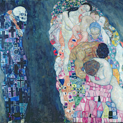 Death and Life, circa 1911 Premium Giclee Print by Gustav Klimt