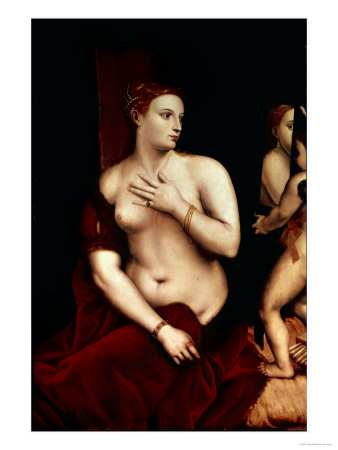 Venus in Front of the Mirror Giclee Print