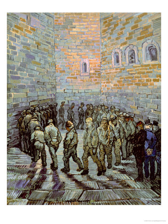 The Exercise Yard, or the Convict Prison, c.1890 Giclee Print
