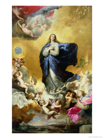 Immaculate Conception, 1635 Premium Giclee Print by Jusepe de Ribera