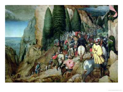 Conversion of St. Paul, 1567 Giclee Print by Pieter Bruegel the Elder