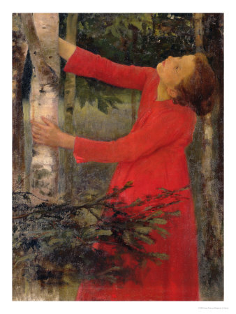 Bird Song Premium Giclee Print by Karoly Ferenczy