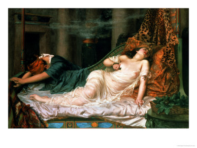 The Death of Cleopatra, 1892 Premium Giclee Print by Reginald Arthur