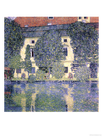 The Schloss Kammer on the Attersee, 1910 Premium Giclee Print by Gustav Klimt