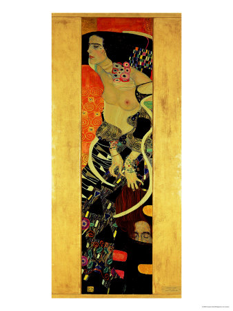 Judith II (Salome) 1909 Lámina giclée por Gustav Klimt