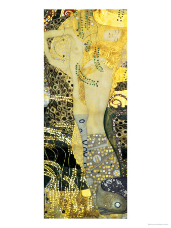 Water Serpents I, c.1907 Lámina giclée