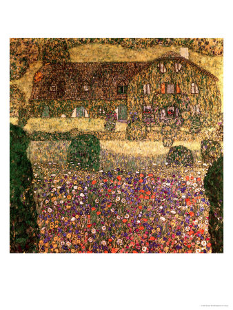 Country House by the Attersee, circa 1914 Premium Giclee Print by Gustav Klimt