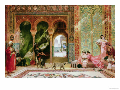 A Royal Palace in Morocco Premium Giclee Print by  Constant