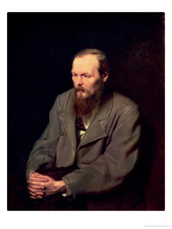 Portrait of Fyodor Dostoyevsky (1821-81) 1872 Premium Giclee Print by Vasili Grigorevich Perov