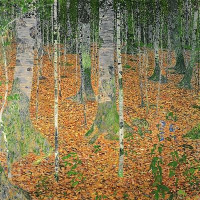 The Birch Wood, 1903 Giclee Print by Gustav Klimt