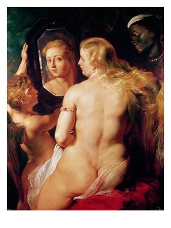 The Toilet of Venus, c.1613 Premium Giclee Print by Peter Paul Rubens