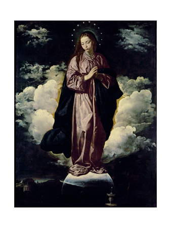 The Immaculate Conception, C.1618 Giclee Print by Diego Rodriguez de Silva y Velazquez