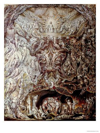 Last Judgement Premium Giclee Print by William Blake